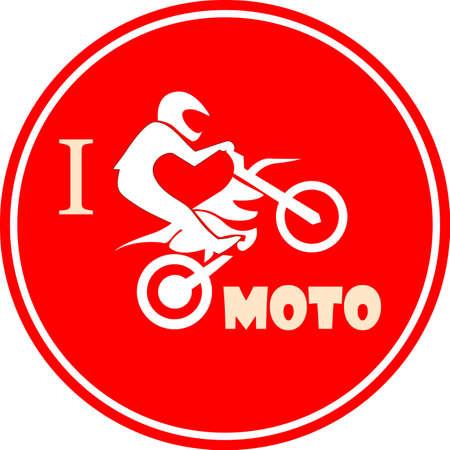 I like motorcycle badge