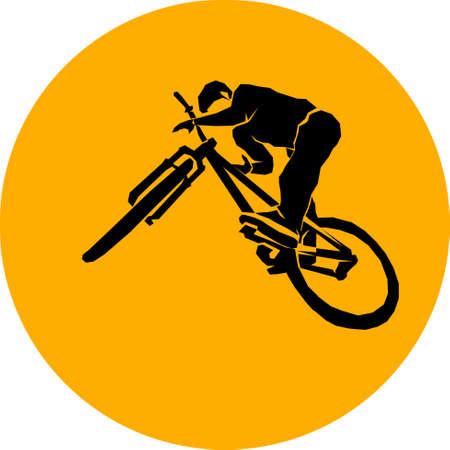 Bicycle mtg trick jump.