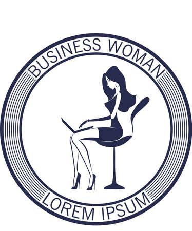 Businesswoman in the office Stok Fotoğraf