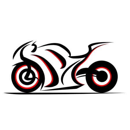 fast extreme sport bike vector 向量圖像