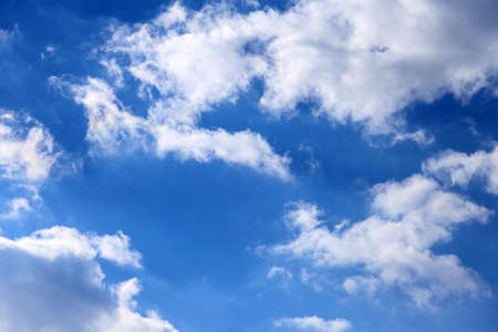 cirrus: Blue skies and cirrus clouds Stock Photo