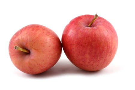 Two apples.