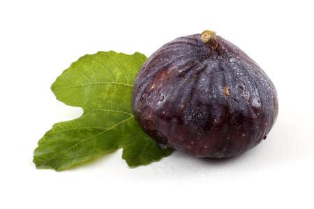 Fig sur feuille