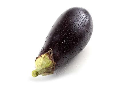 aubergine: Wet aubergine