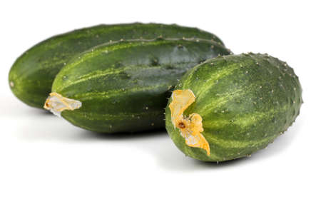 cucumbers: Three cucumbers