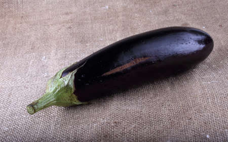 Aubergine on bagging