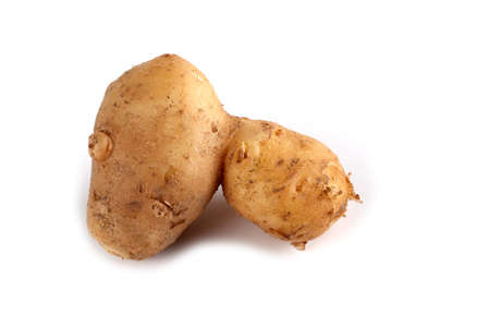 Funny ugly potato