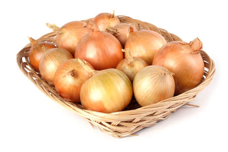 Onions on wicked tray