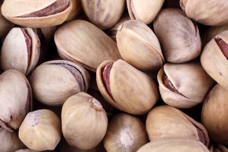 Salted pistachio nuts Imagens - 121782808