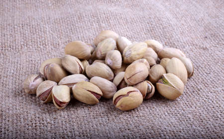 Salted pistachio nuts Imagens - 122463025