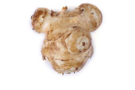 Jerusalem artichoke in a shape of bear head