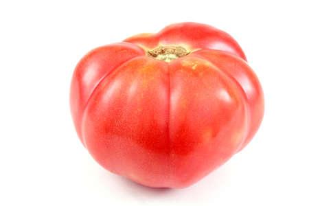 Big beefsteak tomato Reklamní fotografie