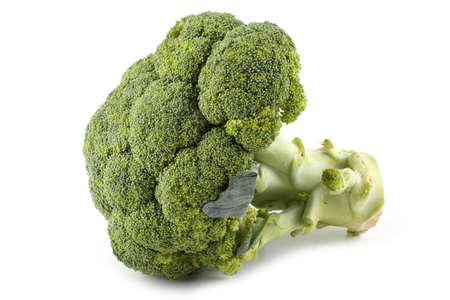 Broccoli isolated on white Archivio Fotografico