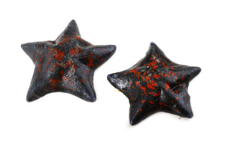 Starfishes isolated on white