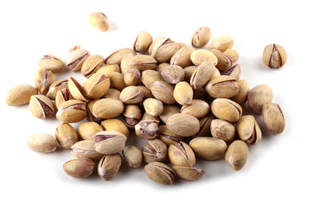Pistachio. Salted nuts Stock Photo