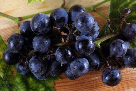 Grape on table Stok Fotoğraf