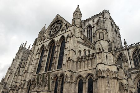 york minster: York Minster facede, Uk, Yorksire