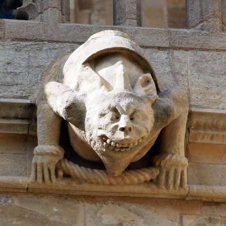 Chimera of Windsor Castle Church, UK photo
