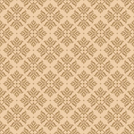 Seamless beige background, vector illustration Vector