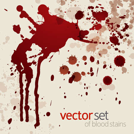 blood stains: Splattered blood stains,background