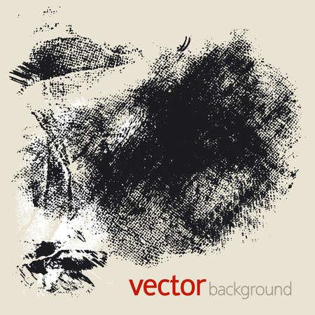 Set of vector grunge elements Vector