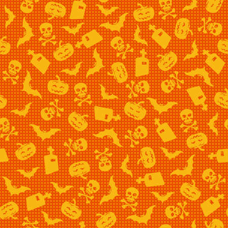 Halloween background, vector illustration