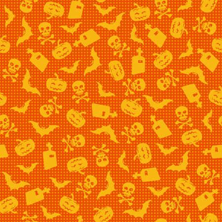 halloween poster: Halloween sfondo, illustrazione vettoriale Vettoriali