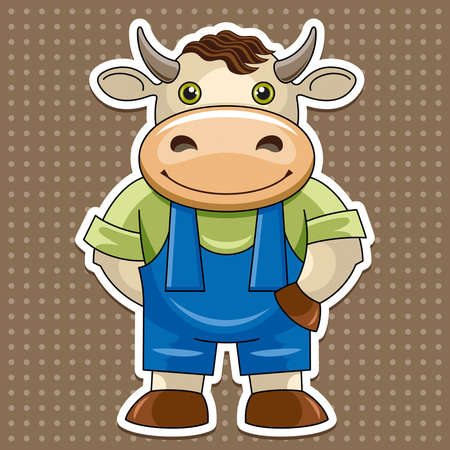 Ð,¡,artoon cute bull