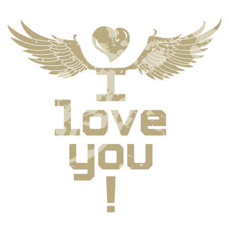 I Love You, inscription Stock Vector - 17150993