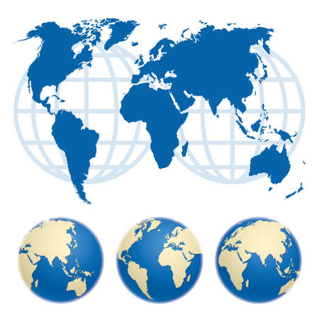 Map of the world. Map source (public domain): http:www.lib.utexas.edumapsworld.html