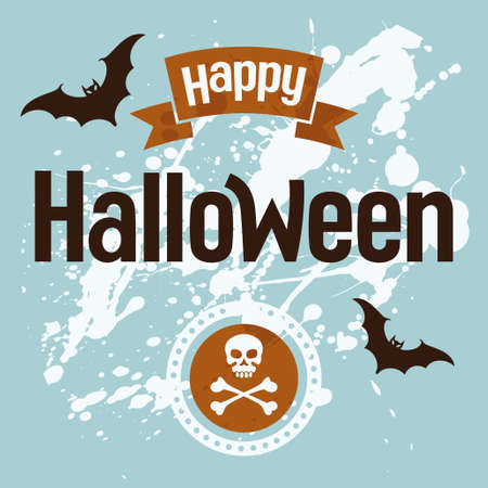 Happy Halloween, vector illustration Vector