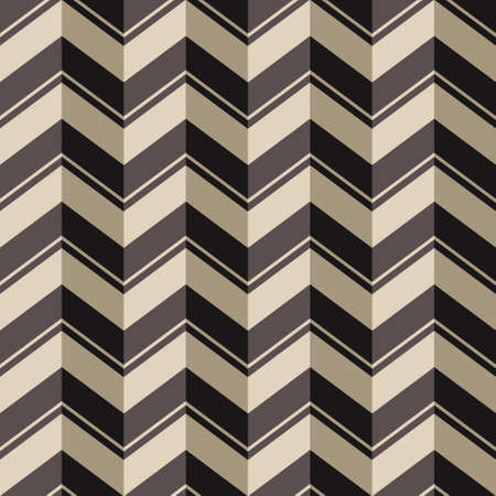 pop art herringbone pattern: Chevrons seamless background, vector pattern