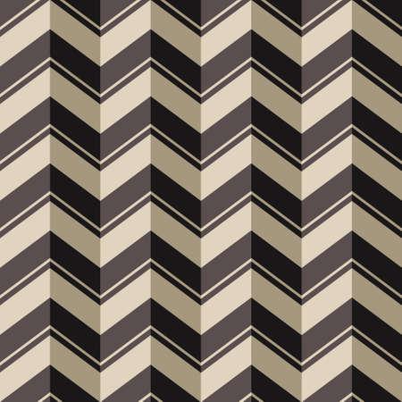 pop art herringbone pattern: Chevrons seamless background, vector pattern