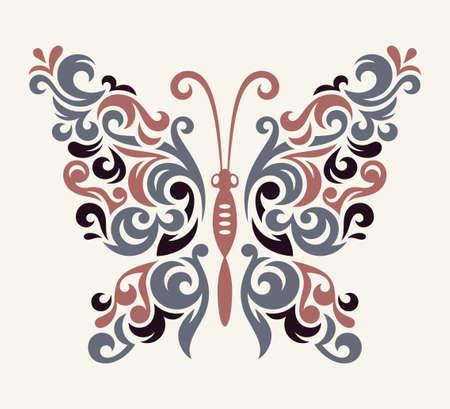 Vlinderillustratie