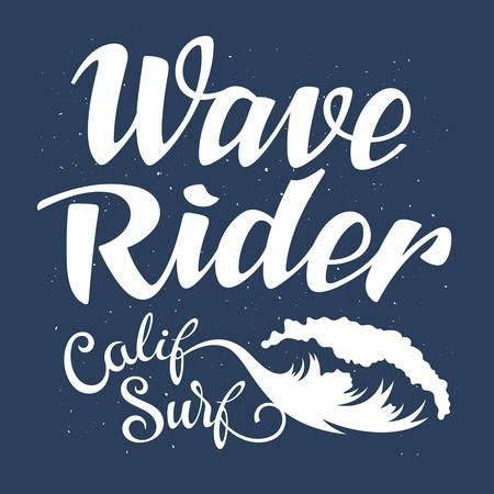 t shirt print: Surfing artwork. Wave rider. Surf California. T-shirt apparel print graphics. Original graphics Tee Illustration