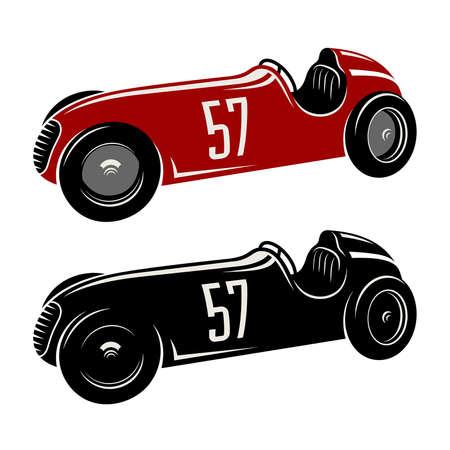 Racing car vector illustration / Vintage sport car Graphic Tee