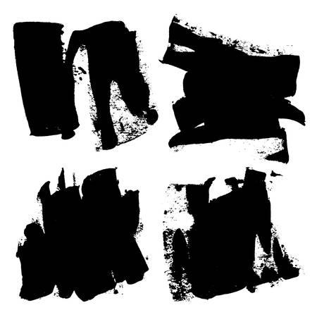 Grunge textures. Ilustração