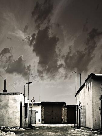 uptown: uptown garage entrance