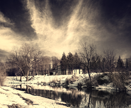 uptown: moody winter uptown