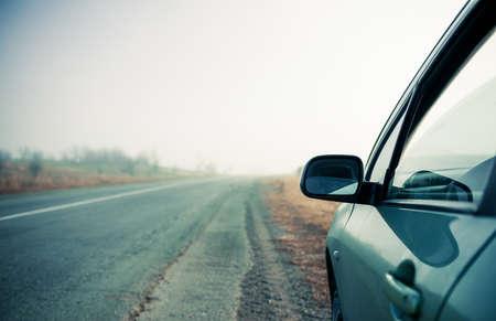 haze: vehicle at freeway haze