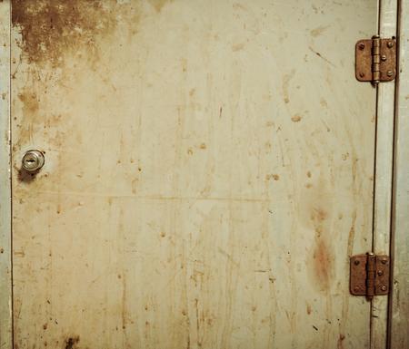 vintage rustic locker door