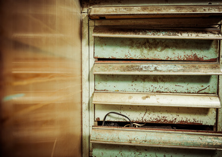 vintage rustic colorful locker Zdjęcie Seryjne