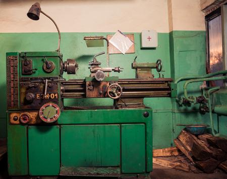 vintage metal processing machine