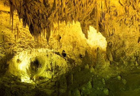 carlsbad: Carlsbad Cavern National Park in New Mexico Stock Photo