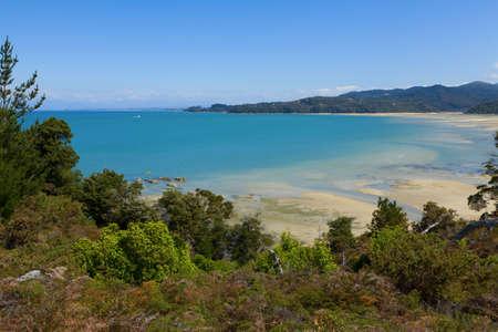 tasman: Tasman bay in New Zealand Stock Photo