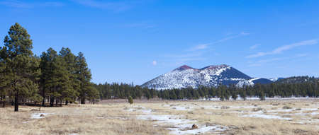 Sunset Crater volcano in Flagstaff, Arizona photo