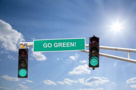 go green: Go Green