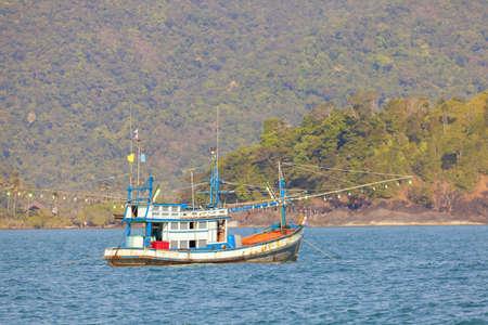 fishing ship: Thai fishing boat Stock Photo