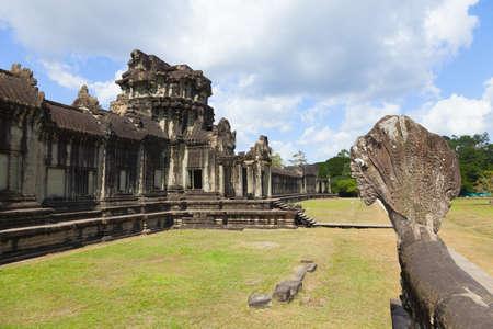Outer enclosure of Angkor Wat, Cambodia photo