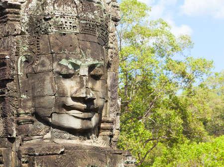 khmer: Faces of Bayon temple